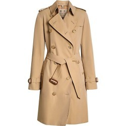 Burberry Women's Kensington Cotton Trench - Honey - Size 4 found on Bargain Bro India from Saks Fifth Avenue for $1990.00