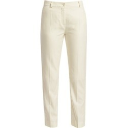 Agnona Women's Wool Tailored Trousers - Ivory - Size 38 (2) found on MODAPINS from Saks Fifth Avenue for USD $990.00