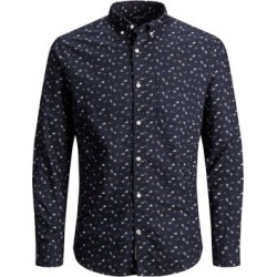 Slim-Fit Floral-Print Shirt found on GamingScroll.com from The Bay for $48.75