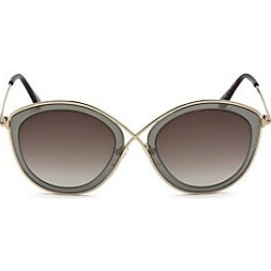 8e5cd86b00 Tom Ford Women s Sascha 55MM Butterfly Sunglasses - Brown found on MODAPINS  from Saks Fifth Avenue