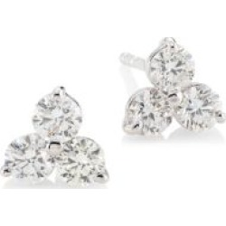 Diamond Classic 18K White Gold & Diamond Cluster Stud Earrings found on Bargain Bro Philippines from Saks Fifth Avenue Canada for $3564.83