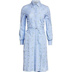 Altuzarra Women's Cotton Hyacinth Shirt Dress - Hyacinth - Size 38 (4) found on MODAPINS from Saks Fifth Avenue for USD $1295.00