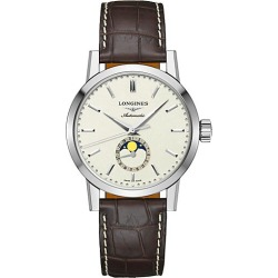 Longines Men's The Longines 1832 40MM Alligator-Strap Automatic Watch - Beige found on MODAPINS from Saks Fifth Avenue for USD $2175.00