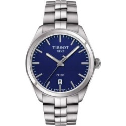 Analog PR 100 Blue Dial Stainless Steel Watch found on MODAPINS from The Bay for USD $375.00