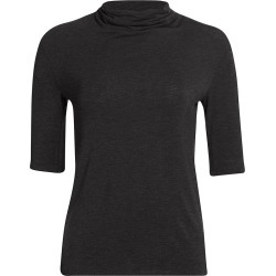 Majestic Filatures Men's Extrafine Elbow-Sleeve Mockneck Top - Anthracite - Size XL found on MODAPINS from Saks Fifth Avenue for USD $99.00