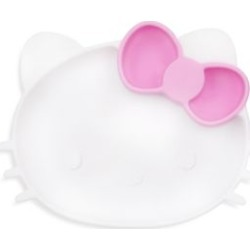 Assiette à base adhérente en silicone Hello Kitty de Sanrio found on Bargain Bro India from La Baie for $26.99