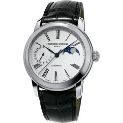 Classics Moonphase Manufacture Automatic Stainless Steel & Leather Strap Watch found on Bargain Bro UK from Saks Fifth Avenue UK