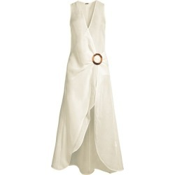 Solene Wrap Midi Dress found on Bargain Bro Philippines from Saks Fifth Avenue Canada for $451.76