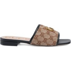 Original GG Canvas Slides with Double G found on Bargain Bro UK from Saks Fifth Avenue UK
