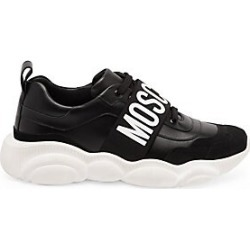 Moschino Logo Strap Dad Sneakers - Black Mult - Size 40 found on Bargain Bro India from Saks Fifth Avenue for $275.00