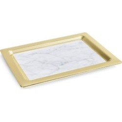 Dual Rectangular Marble Tray found on Bargain Bro India from Saks Fifth Avenue Canada for $367.29