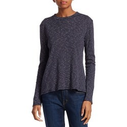 Stripe Long Sleeve T-Shirt found on MODAPINS from Saks Fifth Avenue for USD $74.04