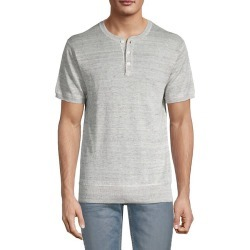 Henley Linen T-Shirt found on Bargain Bro India from Saks Fifth Avenue OFF 5TH for $49.99