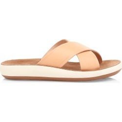 Ancient Greek Sandals Women's Thais Leather Flatform Sandals - Natural - Size 9 found on MODAPINS from Saks Fifth Avenue for USD $230.00