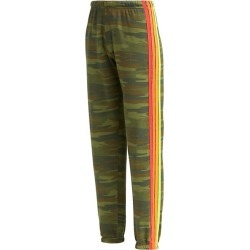 Neon Four-Stripe Sweatpants found on MODAPINS from Saks Fifth Avenue AU for USD $165.12