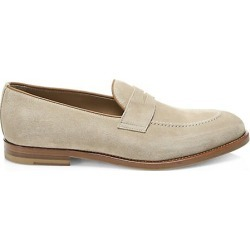 Brunello Cucinelli Men's Suede Loafers - Cocco - Size 44 (11) found on MODAPINS from Saks Fifth Avenue for USD $795.00