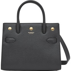 Burberry Women's Mini Title Leather Satchel - Black found on Bargain Bro India from Saks Fifth Avenue for $1690.00