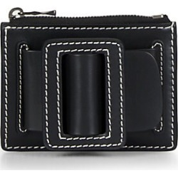 Boyy Women's Buckle Leather Card Case - Black found on MODAPINS from Saks Fifth Avenue for USD $215.00
