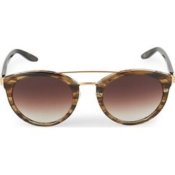Barton Perreira Women's Dalziel 52MM Top Bar Round Sunglasses found on MODAPINS from Saks Fifth Avenue for USD $510.00