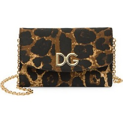 Dolce & Gabbana Women's Micro Leopard-Print Wallet-On-Chain - Leopard found on Bargain Bro India from Saks Fifth Avenue for $975.00