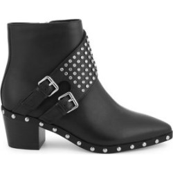 Seth Embellished Leather Booties found on Bargain Bro Philippines from Lord & Taylor for $215.00