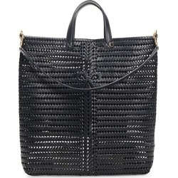 Anya Hindmarch Women's Neeson Woven Leather Tote - Marine found on MODAPINS from Saks Fifth Avenue for USD $1495.00