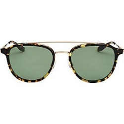 Barton Perreira Men's 10-Year Anniversary Courtier Heroine 52MM Aviator Sunglasses - Bottle Green found on MODAPINS from Saks Fifth Avenue for USD $590.00