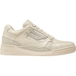 Bally Men's Champion Snakeskin Print Leather Sneakers - White - Size 13 found on MODAPINS from Saks Fifth Avenue for USD $237.50