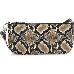 Rachel Snakeskin-Embossed Leather Shoulder Bag found on Bargain Bro from Saks Fifth Avenue AU for USD $196.94