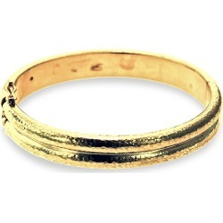 Elizabeth Locke Women's 19K Yellow Gold Double Band Bangle - Yellow Gold found on Bargain Bro Philippines from Saks Fifth Avenue for $7700.00