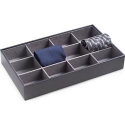 Leather Tie Storage Box