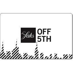 Saks Fifth Avenue OFF 5TH Skyline Gift Card found on Bargain Bro from Saks Fifth Avenue OFF 5TH for USD $38.00