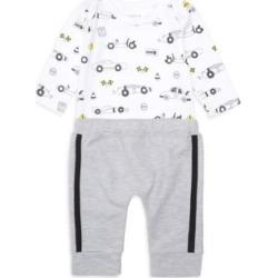 Baby Boy's 2-Piece Car Print Bodysuit & Jogging Pants Set found on Bargain Bro UK from Saks Fifth Avenue UK