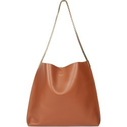 Saint Laurent Women's Suzanne Leather Hobo Bag - Brick found on Bargain Bro from Saks Fifth Avenue for USD $1,816.40