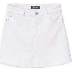 DL1961 Premium Denim Girl's Denim Mini Skirt - Palmetto - Size 7