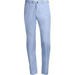 Incotex Men's Micky Slim-Fit Chinolino Trousers - Light Blue - Size 38 found on MODAPINS from Saks Fifth Avenue for USD $140.62