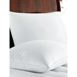 Zippered Cover King Goose-Down Pillow
