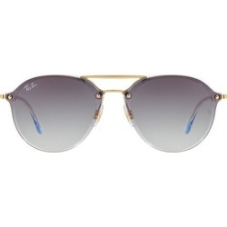 RB4292 61MM Blaze Double-Bridge Round Sunglasses