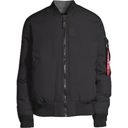 Alpha Industries Men's MA-1 Reversible Down-Filled Flight Jacket - Black - Size XS found on MODAPINS from Saks Fifth Avenue for USD $250.00