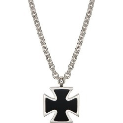 Sterling Silver & Onyx Pendant Necklace found on Bargain Bro India from Saks Fifth Avenue OFF 5TH for $232.00