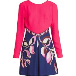 Emilio Pucci Women's Cady Mini Dress - Magenta - Size 42 (8) found on MODAPINS from Saks Fifth Avenue for USD $619.50