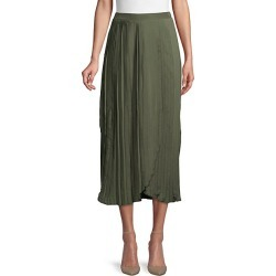 Pleated Midi Skirt found on Bargain Bro India from Saks Fifth Avenue OFF 5TH for $39.99