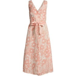 Desert Floral Print V Neck Button Front Dress found on Bargain Bro India from Saks Fifth Avenue Canada for $465.09
