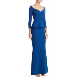 Quarter-Sleeve Formal Gown found on MODAPINS from Saks Fifth Avenue for USD $298.50