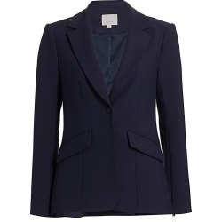 Cinq à Sept Women's Kym Zipper Blazer - Navy - Size 2 found on Bargain Bro India from Saks Fifth Avenue for $158.00