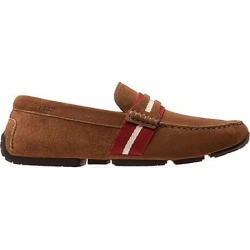 Bally Men's Pilot Pietro Web Suede Driver Loafers - Nuts - Size 11 found on MODAPINS from Saks Fifth Avenue for USD $197.50