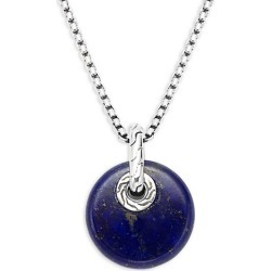 Sterling Silver & Lapis Pendant Necklace found on Bargain Bro India from Saks Fifth Avenue OFF 5TH for $357.00