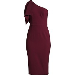 Dress The Population Women's Tiffany One-Shoulder Dress - Burgundy - Size Medium found on MODAPINS from Saks Fifth Avenue for USD $232.00