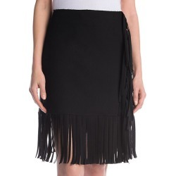Fringed Mini Skirt found on Bargain Bro India from Saks Fifth Avenue OFF 5TH for $149.99