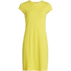 Joan Vass Women's Stretch Pique Casual Dress - Yellow - Size 16 found on MODAPINS from Saks Fifth Avenue for USD $210.00